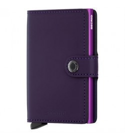 Secrid mini wallet matte purple-20