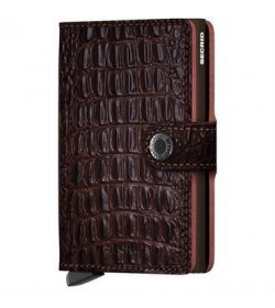 Secrid mini wallet Nile brown-20