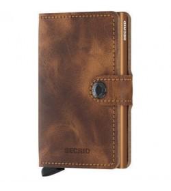 Secrid mini wallet vintage cognac-rust-20