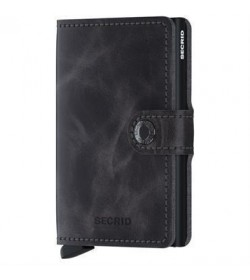 Secrid mini wallet vintage grey-black-20