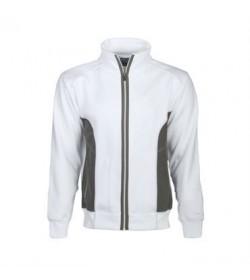 ProJob 2121 arbejdssweatshirt med lynlås hvid-20