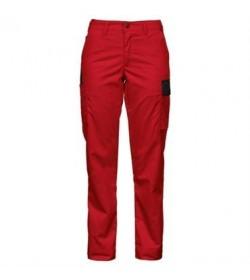 ProJob 2519 dame arbejdsbukser rød-20