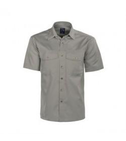 ProJob 4201 kortærmet arbejdsskjorte stone-20