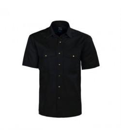 ProJob 4201 kortærmet arbejdsskjorte sort-20