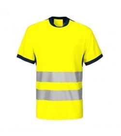 ProJob 6009 sikkerhedst-shirt EN ISO 20471-Klasse 2 gul/navy-20