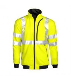 ProJob 6103 sikkerhedstrøje EN ISO 20471-Klasse 3 gul/sort-20