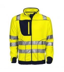ProJob 6303 sikkerhedsjakke EN ISO 20471-Klasse 3/2 gul/navy-20