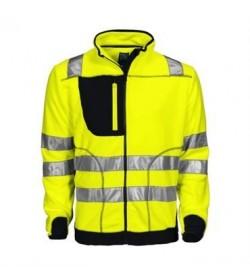 ProJob 6303 sikkerhedsjakke EN ISO 20471-Klasse 3/2 gul/sort-20