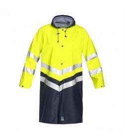 ProJob 6403 sikkerhedsjakke EN ISO 20471-Klasse 3 gul/navy-20
