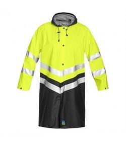 ProJob 6403 sikkerhedsjakke EN ISO 20471-Klasse 3 gul/sort-20