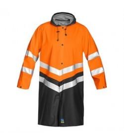 ProJob 6403 sikkerhedsjakke EN ISO 20471-Klasse 3 orange/sort-20