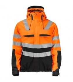 ProJob 6414 foret sikkerhedsjakke EN ISO 20471-Klasse 3/2 orange/sort-20
