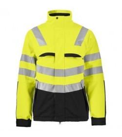 ProJob 6415 foret sikkerhedsjakke EN ISO 20471-Klasse 3/2 gul/sort-20