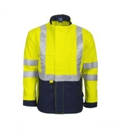 ProJob 8402 flammehæmmende jakke EN 471 klasse 3 gul/marine-20