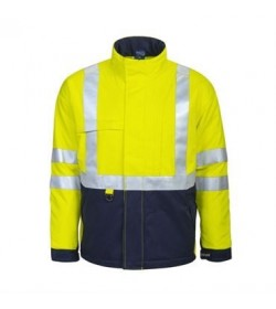 ProJob 8404 Foret flammehæmmende jakke EN 471 klasse 3 gul/marine-20