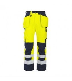 ProJob 8503 flammehæmmende jakke EN 471 klasse 3 gul/marine-20