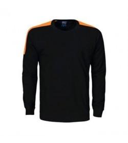 ProJob 2123 arbejdssweatshirt sort/orange-20