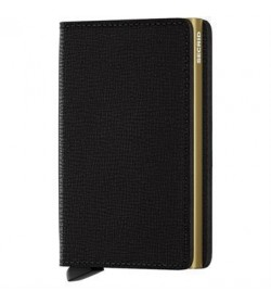 Secrid slim wallet crisple black-gold-20