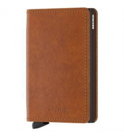 Secrid slim wallet original cognac-brown-20