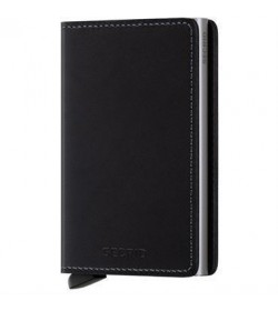 Secrid slim wallet original black-20
