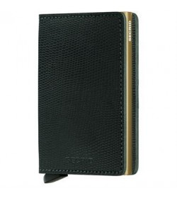 Secrid slim wallet rango green gold-20