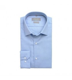 Seven Seas skjorte slim fit ss311 light blue-20