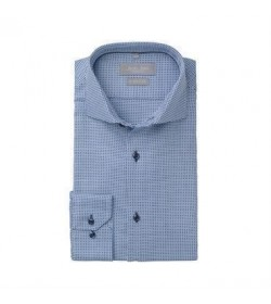 Seven Seas skjorte modern fit ss320 blue check-20
