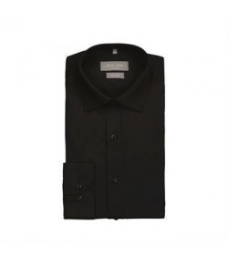 Seven Seas skjorte slim fit s7 black-20
