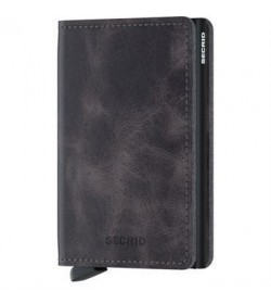 Secrid slim wallet vintage black-grey-20