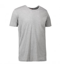 ID 1x1 rib t-shirt 0538 grå melange-20