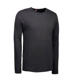 ID interlock t-shirt 0518 koks grå-20