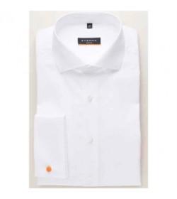 Eterna 8500 F482 00 orangeline dobbel manchett skjorte-20