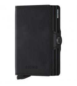 Secrid twin wallet vintage black-20