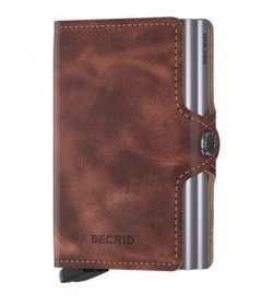 Secrid twin wallet vintage brown-20