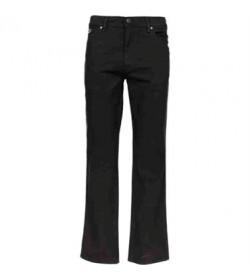 Wrangler jeans texas stretch lærredsbuks w121ta100 black-20