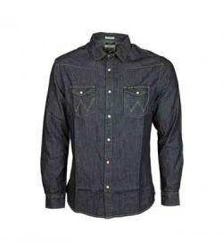 Wrangler denim skjorte W5973O7WE-20