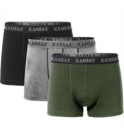 Kansas Boxershorts, 3-pak 9329-20