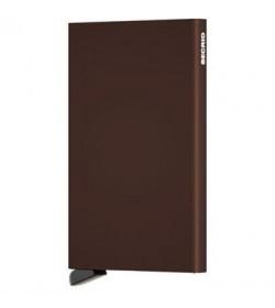 Secrid cardprotector brown-20