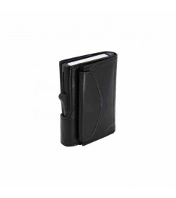 C-secure XL wallet with coin pocket Black Nero / Black cardholder-20