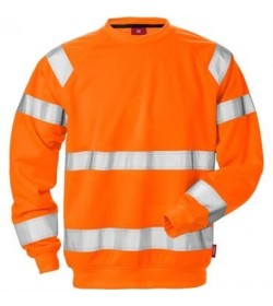 Kansas Hi Vis sweatshirt kl. 3 7084-20