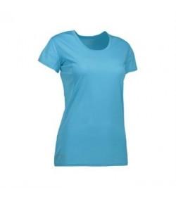 ID active t-shirt dame G11002 aqua-20