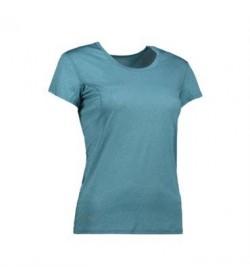 ID active t-shirt dame G11002 petrol melange-20