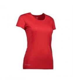 ID active t-shirt dame G11002 rød-20