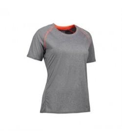 ID sports t-shirt dame g11066 grå melange-20