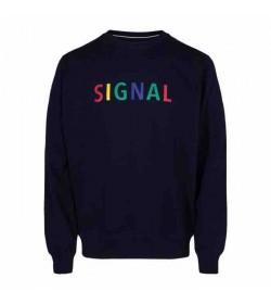 Signal sweatshirt Benjamin duke blue-20
