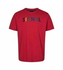 Signal t-shirt Bendix red-20