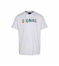 Signal t-shirt Bendix white-20