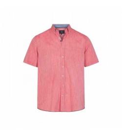 Signal kort ærmet skjorte Kevin2 Coral Red-20