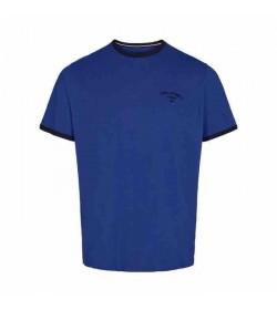 Signal t-shirt Aldo CP Strong blue melange-20