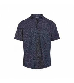 Signal kort ærmet skjorte Arthur duke blue-20